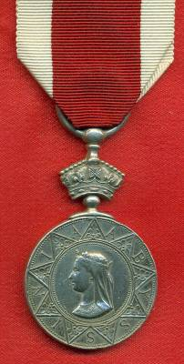 Abyssinian War Medal 1867-1868. 197 J. Young, 45th Regiment