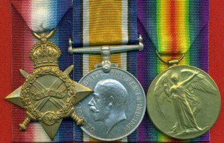 1914-15 Star, (13293. L.Cpl. R. Sc. Fus.). 13293 Sergeant J. Kerr, Royal Scots Fusiliers
