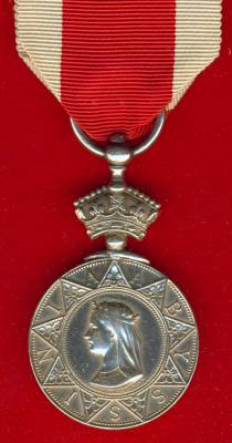 Abyssinian War Medal 1867-1868. 213 J. Patterson, 26th Regiment