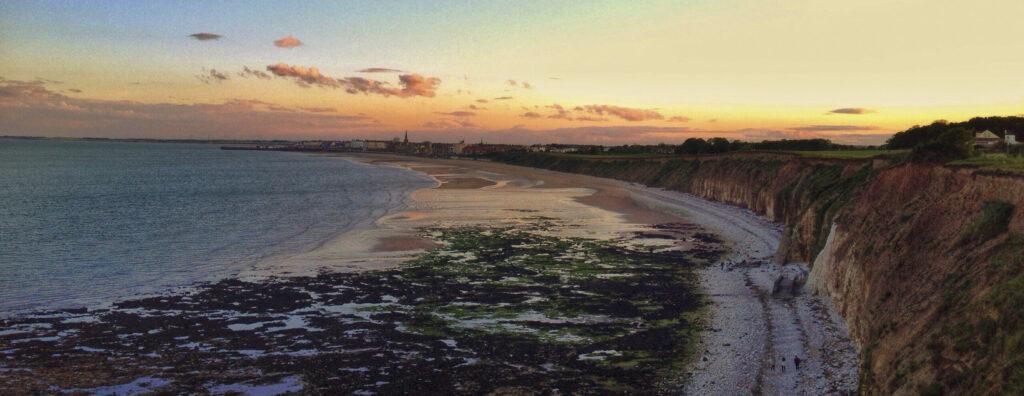 Bridlington Beach Sunset